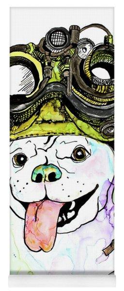 Steampunk Pug Yoga Mat