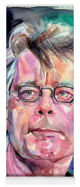 Stephen King Portrait Yoga Mat