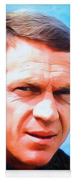 Steve Mcqueen, Portrait Yoga Mat