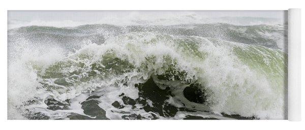 Storm Surf Spray Yoga Mat