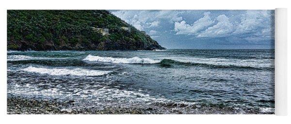 Stormy Shores Yoga Mat