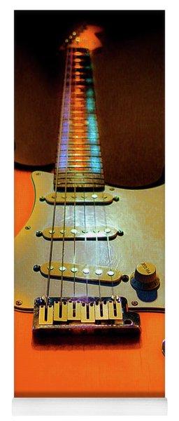Stratocaster Triburst Glow Neck Series Yoga Mat