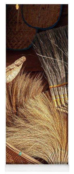 Straw Brooms Yoga Mat