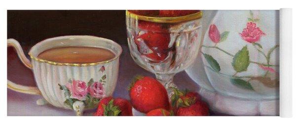 Strawberry Tea Yoga Mat