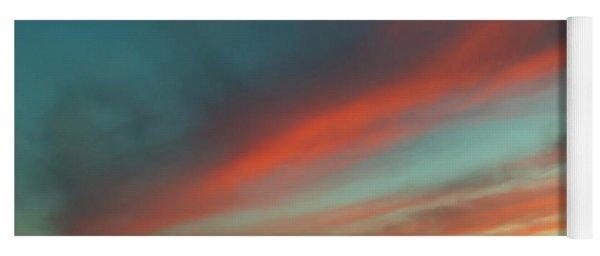 Streaming Sunset Yoga Mat
