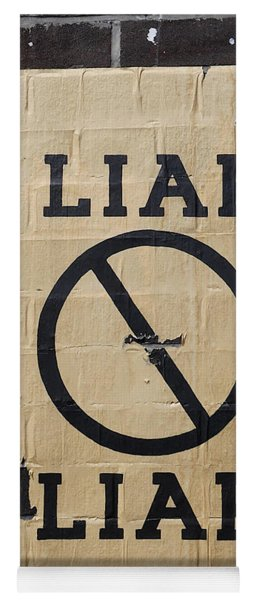 Street Poster - Liar Liar 2 Yoga Mat