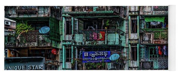 Streets Of Rangoon Yoga Mat