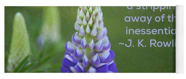 Success Via Failure - Motivational Flower Art By Omaste Witkowski Yoga Mat