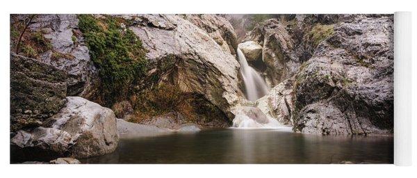 Suchurum Waterfall, Karlovo, Bulgaria Yoga Mat