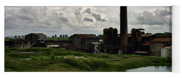 Sugar Factory I, Usine Ste. Madeleine Yoga Mat