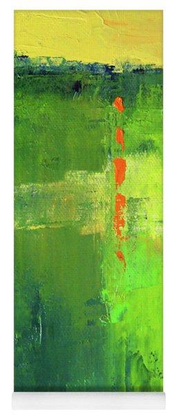 Summer Green Yoga Mat