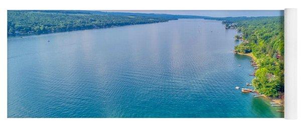 Summer On Keuka Lake Yoga Mat