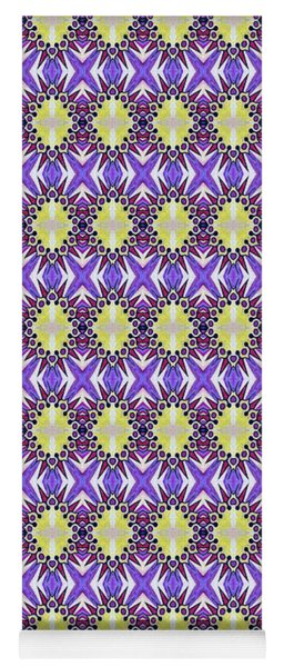 Sun Abstract Yoga Mat