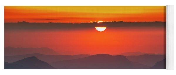 Sun Eye Yoga Mat