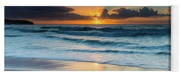 Sun Glow Seascape Yoga Mat