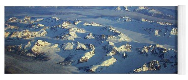 Sun Kissed Glaciers Yoga Mat