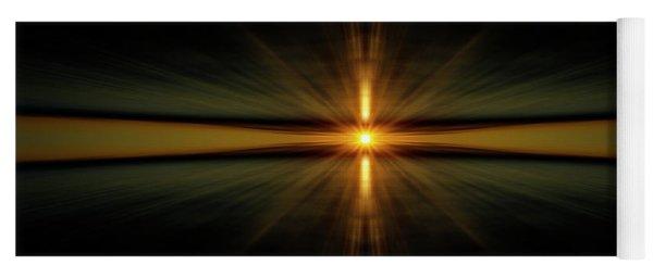Sunburst Yoga Mat