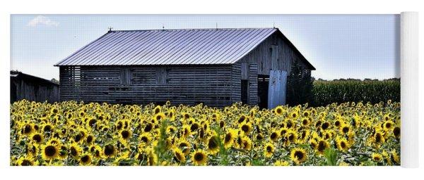 Sunflower Barn Yoga Mat