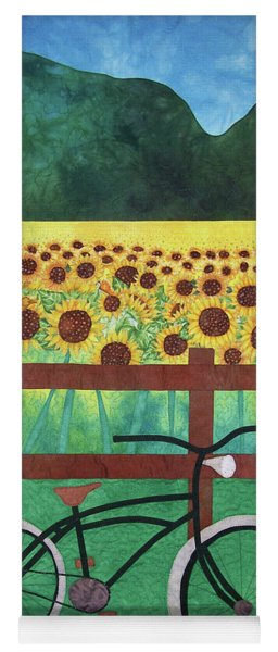 Sunflowers At Whitehall Farm Yoga Mat