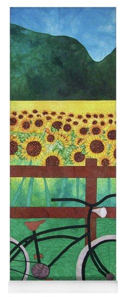 Sunflowers At Whitehall Farm Yoga Mat