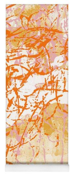 Sunrise 2- Abstract Art By Linda Woods Yoga Mat