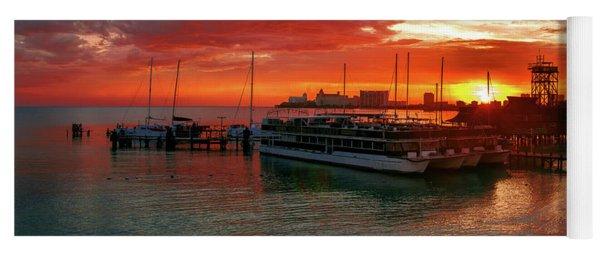 Sunrise In Cancun Yoga Mat