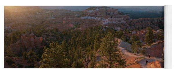 Sunrise Over Bryce Canyon Yoga Mat