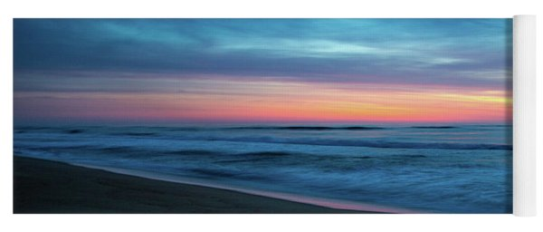Yoga Mat featuring the photograph Sunrise Over The Outer Banks by Lora J Wilson