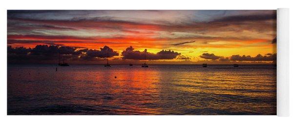 Sunset 4 No Filter Yoga Mat