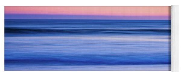 Sunset Abstract Yoga Mat