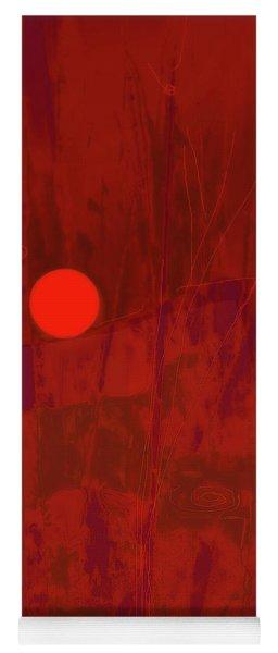 Sunset As Siler Metaphorm Yoga Mat