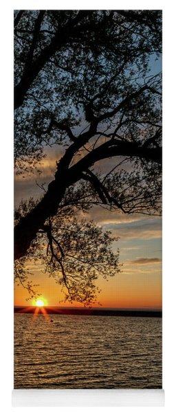 Sunset At Breitbeck Park Yoga Mat