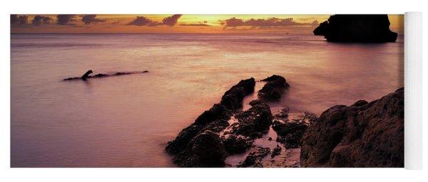 Sunset At Columbus Bay Yoga Mat
