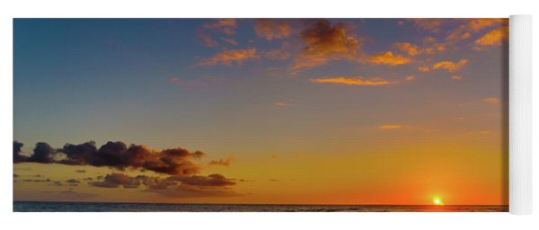 Sunset At Kailua Beach Yoga Mat