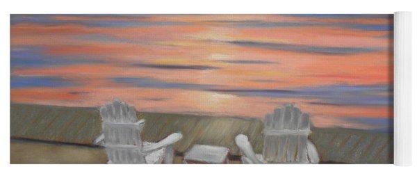Sunset At Mairs Yoga Mat