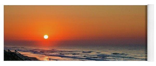 Sunset At Surf City Nc Yoga Mat