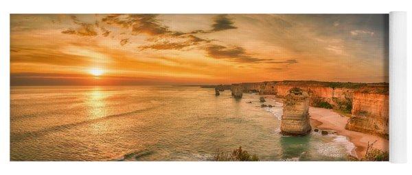 Sunset At The Twelve Apostles Yoga Mat