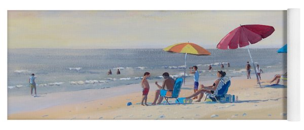 Sunset Beach Observers Yoga Mat