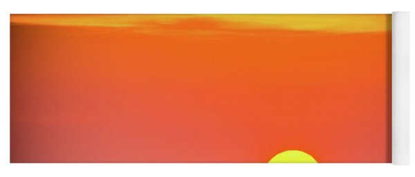 Yoga Mat featuring the photograph Sunset Captiva  by Francisco Gomez