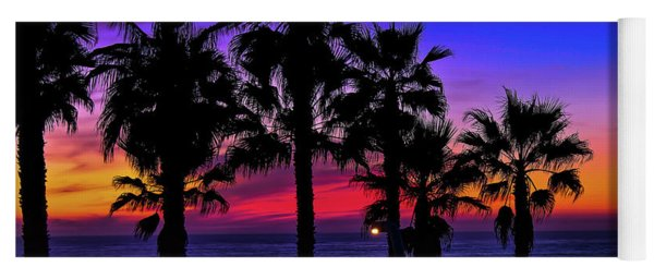 Sunset From The Ocean Park Inn Yoga Mat
