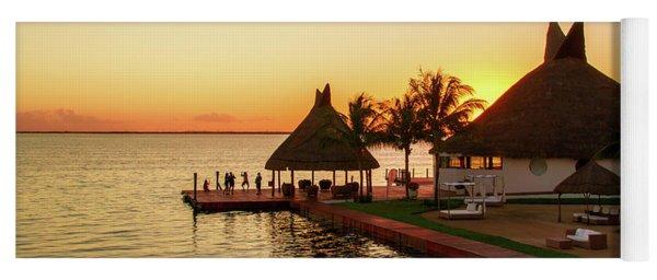 Sunset In Cancun Yoga Mat