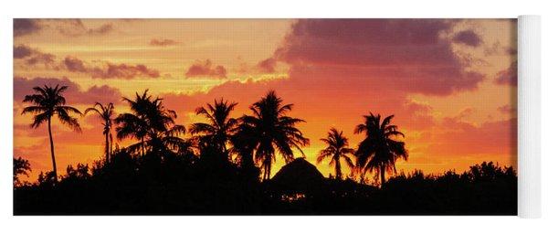 Sunset In The Florida Keys Yoga Mat