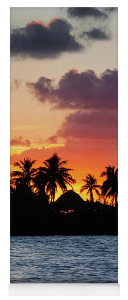 Sunset In The Florida Keys Yoga Mat