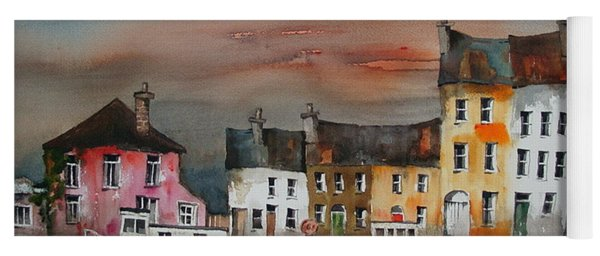 Sunset On  Cloondra, Co. Longford Yoga Mat