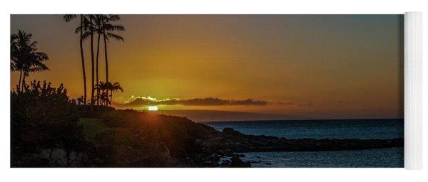Sunset On Kapalua Yoga Mat