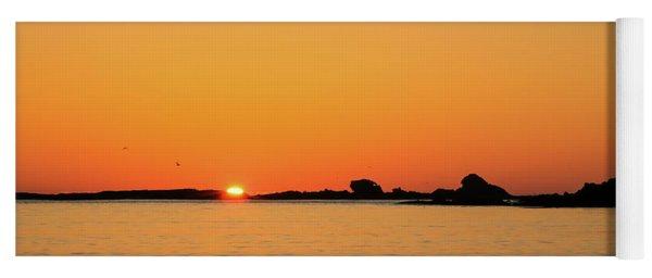 Sunset Over Sunset Bay, Oregon 4 Yoga Mat