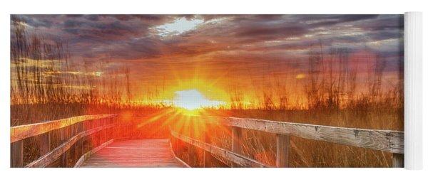 Sunset Walk Yoga Mat