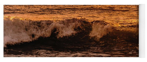 Sunset Wave Yoga Mat