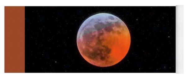 Super Blood Moon Eclipse 2019 Yoga Mat