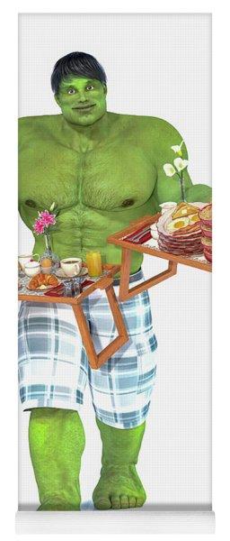 Super Morning Hero Breakfast Yoga Mat